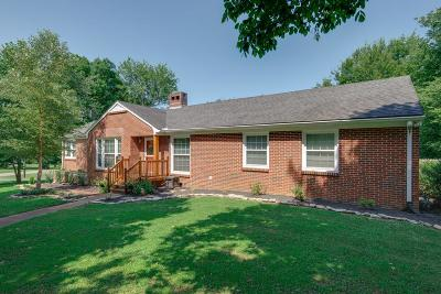 Nashville Single Family Home Under Contract - Showing: 851 Brook Hollow Rd