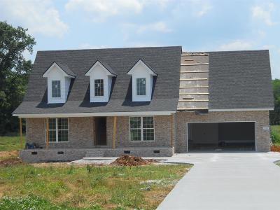 Marshall County Single Family Home For Sale: 1981 Rolling Meadow Ln