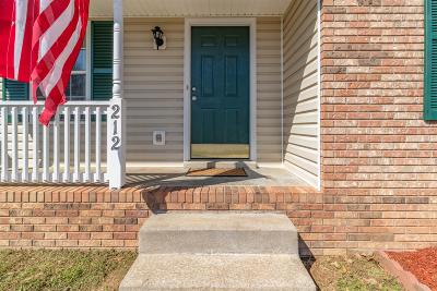 Clarksville Single Family Home For Sale: 212 Grassmire Drive