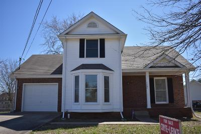 Clarksville Single Family Home Under Contract - Not Showing: 1305 Wennona Dr