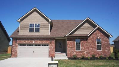 Clarksville TN Single Family Home Under Contract - Showing: $209,000