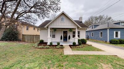 Nashville Single Family Home For Sale: 315 54th Ave N