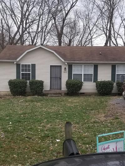 Clarksville Single Family Home For Sale: 203 Creekside Dr