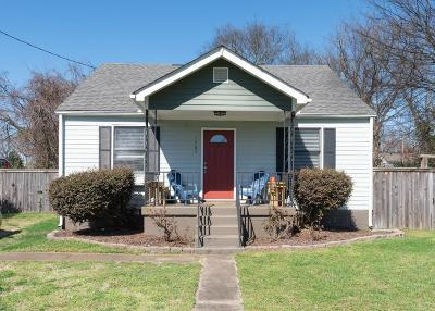 Single Family Home For Sale: 1707 Straightway Ave
