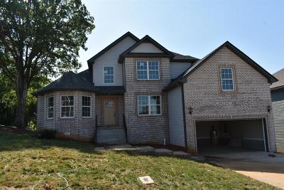 Clarksville Single Family Home Under Contract - Showing: 24 Kingstons Cove