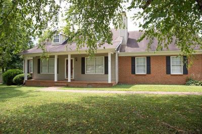 Spring Hill Single Family Home For Sale: 1707 Whitt Dr
