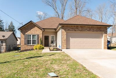 Murfreesboro Single Family Home Under Contract - Not Showing: 411 Slippery Rock Dr