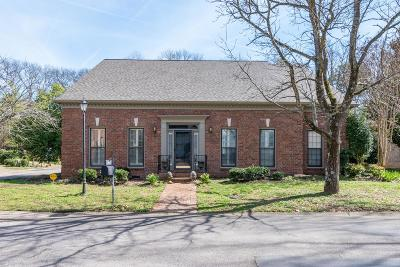 Nashville Single Family Home For Sale: 112 Wentworth Ave