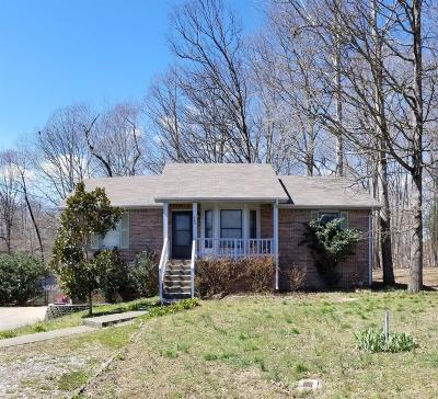 Clarksville Single Family Home Under Contract - Showing: 509 Pointer Ln