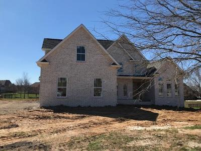 Clarksville Single Family Home Under Contract - Not Showing: 282 Gray Hawk Trail