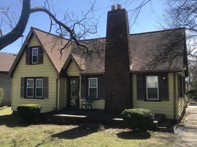 East Nashville Single Family Home For Sale: 1206 Litton Ave
