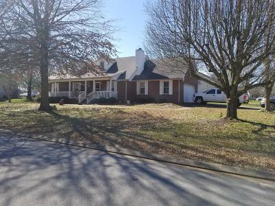 Murfreesboro Single Family Home Under Contract - Not Showing: 2610 Riverstone Dr