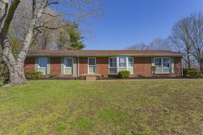 Robertson County Single Family Home For Sale: 117 Pleasant Hill Dr