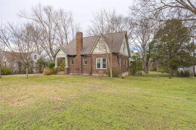Nashville Single Family Home Under Contract - Not Showing: 1201 Plymouth Ave