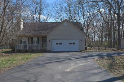 Smithville Single Family Home Under Contract - Not Showing: 185 Oak Place Dr