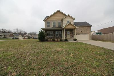 Clarksville TN Single Family Home Under Contract - Showing: $174,750