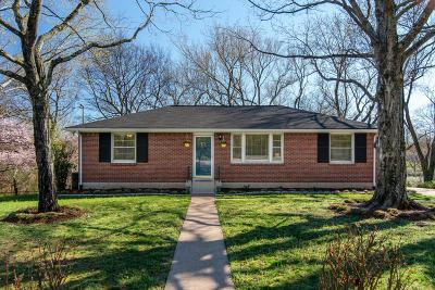 Nashville Single Family Home Under Contract - Showing: 95 Vaden Dr