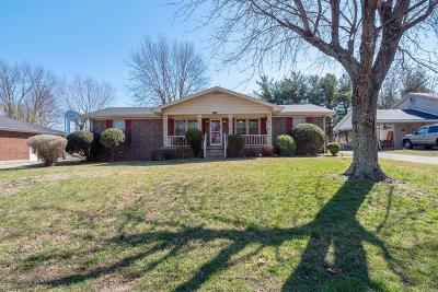 Robertson County Single Family Home For Sale: 1710 Martindale Dr