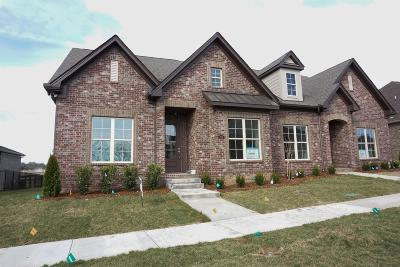 Gallatin Single Family Home For Sale: 1124 West Cavaletti Cir Lot 245