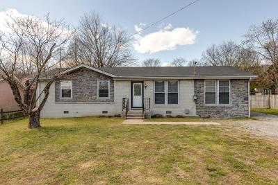 Goodlettsville Single Family Home Under Contract - Showing: 343 Janette Ave