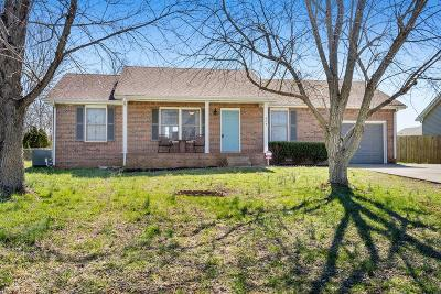 Clarksville Single Family Home Under Contract - Showing: 424 Jordan Rd