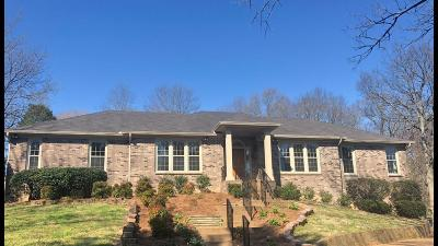 Franklin Single Family Home Under Contract - Showing: 1334 Holly Hill Drive