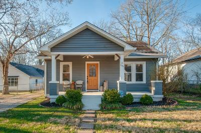 Nashville  Single Family Home For Sale: 132 Lucile St