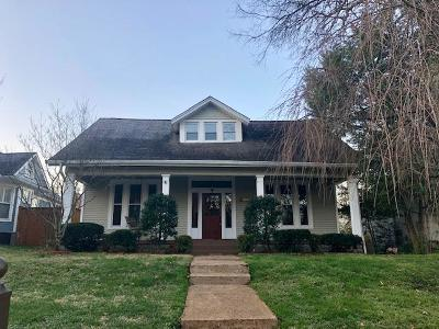 Nashville  Single Family Home Under Contract - Not Showing: 4809 Elkins Ave