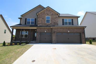 Clarksville Single Family Home For Sale: 281 The Groves At Hearthstone