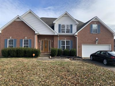 Clarksville Single Family Home For Sale: 3533 Barkers Mill Rd