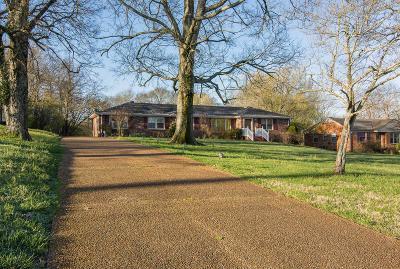 Nashville Single Family Home For Sale: 865 Belton Dr