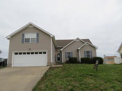 Clarksville TN Single Family Home For Sale: $149,500