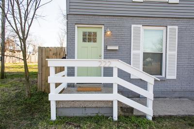 Nashville Single Family Home Under Contract - Showing: 222 Berry St