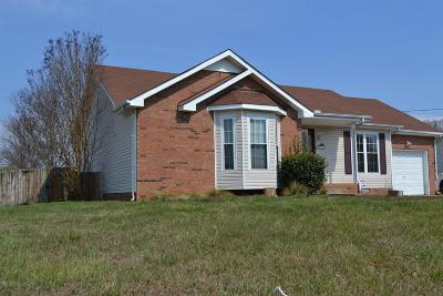 Clarksville Single Family Home For Sale: 3766 Misty Way
