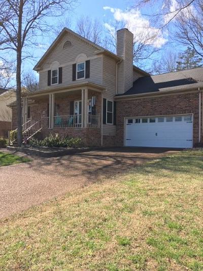 Smyrna Single Family Home Under Contract - Not Showing: 610 Myatt St