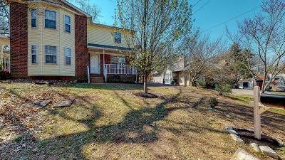 Nashville Single Family Home Under Contract - Showing: 1107 Waggoner Ct. W.
