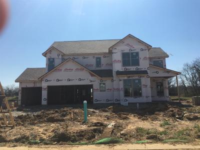 Murfreesboro Single Family Home For Sale: 2413 Bull Rush Lane (Lot 84)