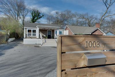 Nashville Single Family Home For Sale: 1003 Thomas Ave
