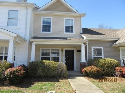 Clarksville Condo/Townhouse Under Contract - Not Showing: 117 Alexander Blvd