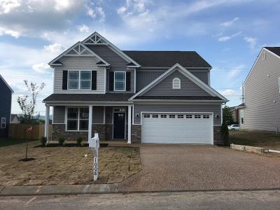 Spring Hill Single Family Home For Sale: 1008 Vanguard Dr
