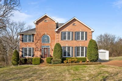 Mount Juliet Single Family Home For Sale: 611 Canterbury Trl
