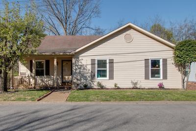 Nashville Single Family Home For Sale: 5432 Village Way