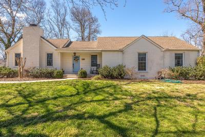 Nashville Single Family Home Under Contract - Showing: 1122 Duncanwood Dr