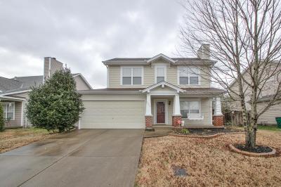 Nashville Single Family Home For Sale: 3377 Cain Harbor Dr