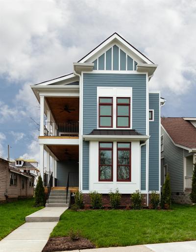 Nashville Single Family Home For Sale: 1021 Warren St