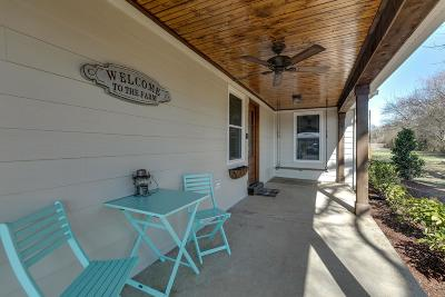 Williamson County Single Family Home For Sale: 4832 E Bethesda Duplex Rd