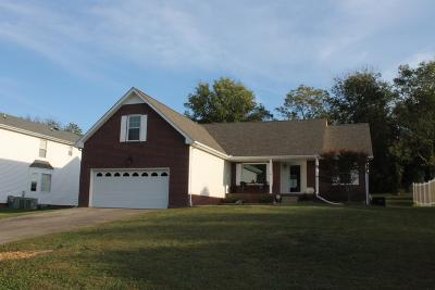 Clarksville Single Family Home Under Contract - Not Showing: 716 Meadowgate Ln