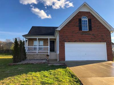Rutherford County Single Family Home For Sale: 1516 Waxman Dr