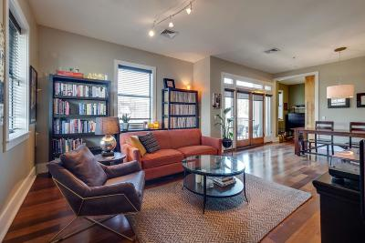 Nashville Condo/Townhouse For Sale: 2201 8th Ave S Apt 301