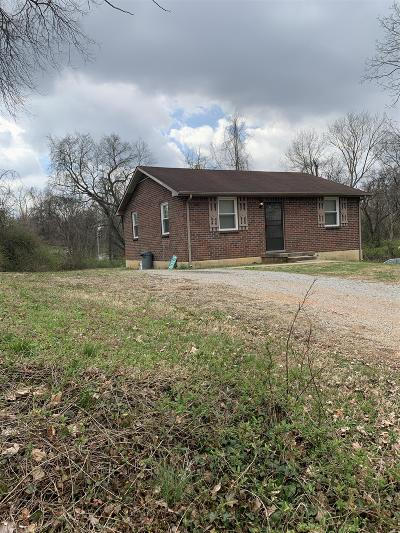 Clarksville Single Family Home Under Contract - Not Showing: 1146 Commerce St